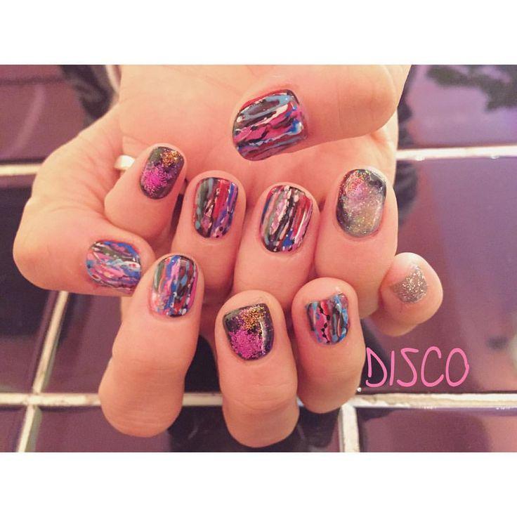 """DISCO Official Instagram on Instagram: """"Nail by @nagisakaneko #disco#disconail @disco_tokyo"""""""