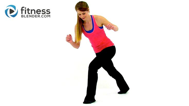 23 Minute quiet, low impact, small apartment cardio workout video that involves no jumping but still blasts calories!