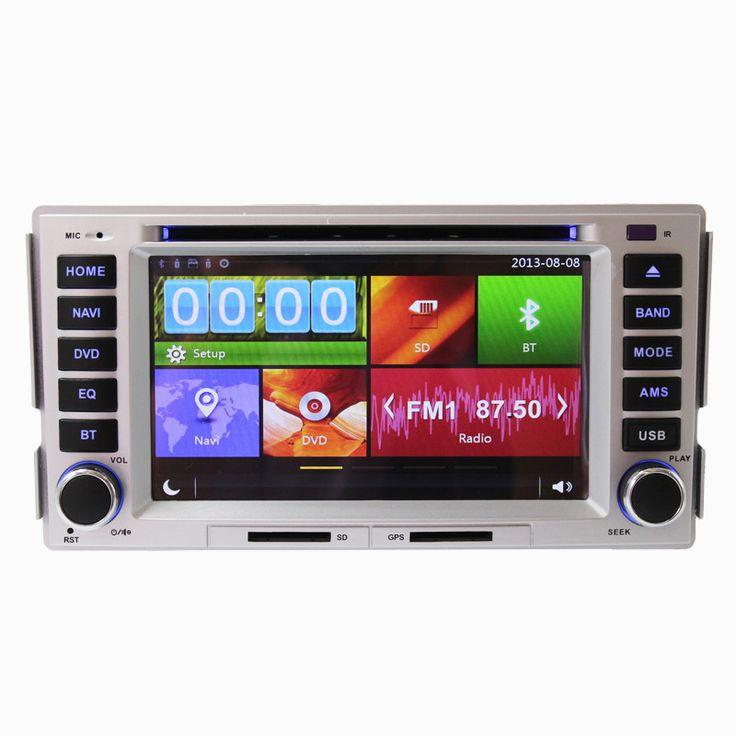 "Free Shipping 6.2"" Touch Screen Car DVD Player GPS Navigation System For Hyundai Santa Fe 2006 2007 2008 2009 2010 2011 2012"
