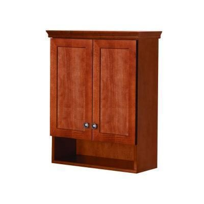Website Picture Gallery D Over the Toilet Bathroom Storage Wall Cabinet in The Home Depot