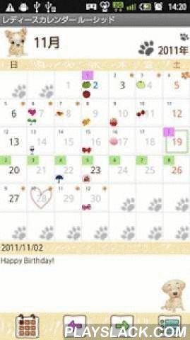 LadysCalendar Lucid Free  Android App - playslack.com , Ladys Calendar Lucid is the simple version of Ladys Calendar!You can manage「Menstruation」「Temparature」and 「Health」with Ladys Calendar!You can also manage 「Schedule」with Ladys Calendar Wiz!You want to a simple app for just managing 「Menstruation」? Chose Ladys Calendar Lucid!You can select from 3 different types of Ladys Calendar and download a favorite one!Paid-for version Ladys' users, please download first free version of Ladys Lucid…