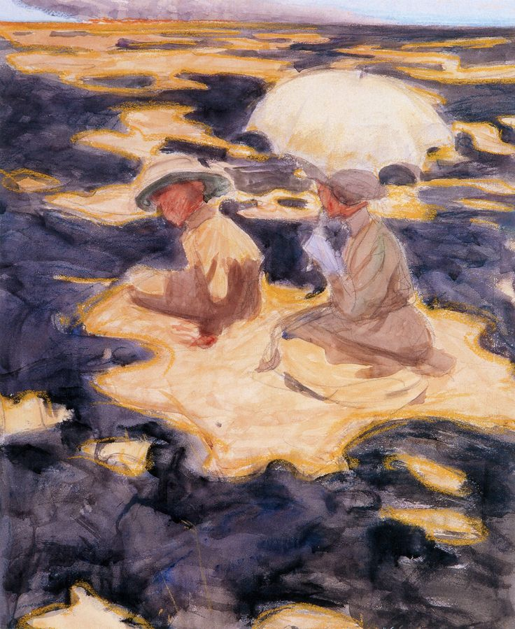 Brush Fire on the Savannah, 1910 Akseli Gallen-Kallela