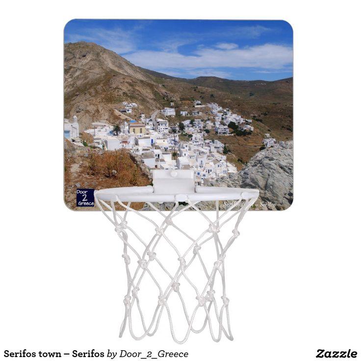 Serifos town – Serifos Mini Basketball Hoop