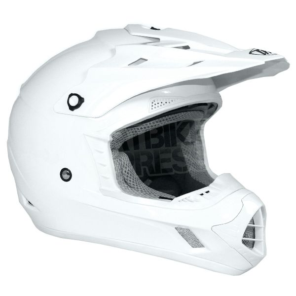 THH TX-12 Helmet - Solid White