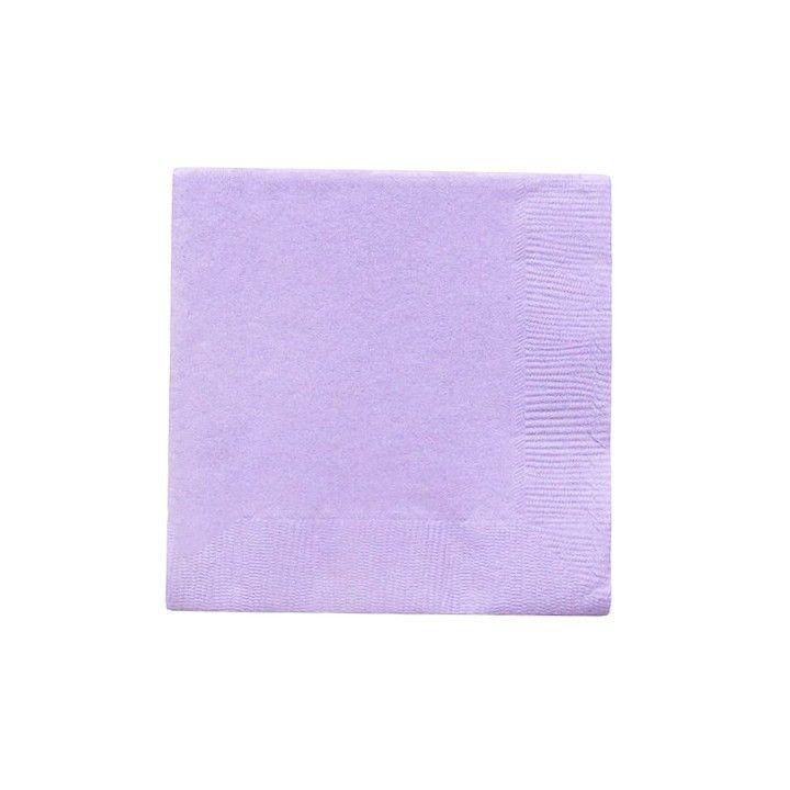 Beverage Napkins, Lavender