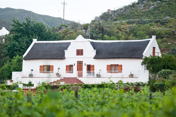 Orange Grove Farm Manor House dating back to 1812 - oldest in Robertson, South Africa.