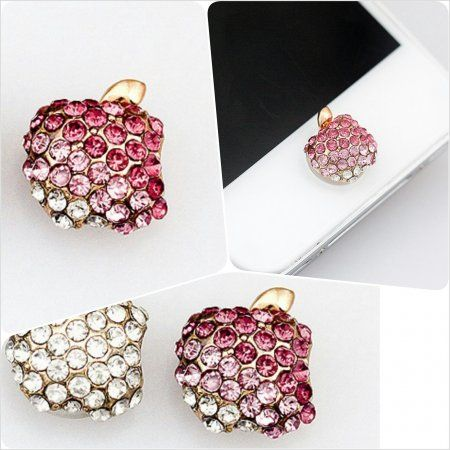 Jewelry Apple Bite Home Button for Apple Gadget