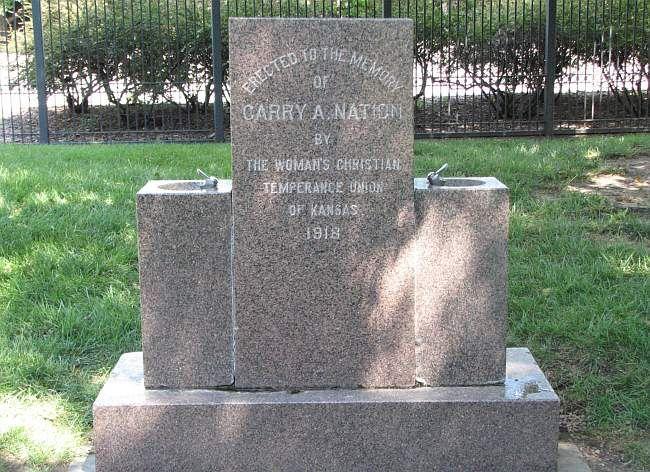 Douglas Avenue Sculptures & Carrie Nation Fountain - Wichita, Kansas