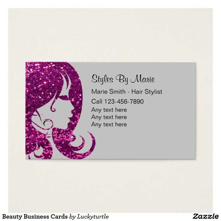93 best Hair And Beauty Salon Business Cards images on Pinterest