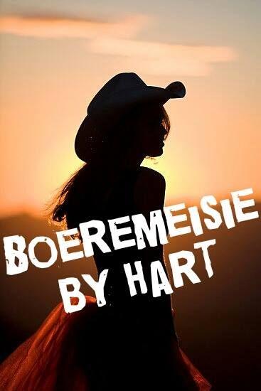 boeremeisie by hart