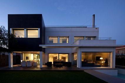 Casas prefabricadas de hormig n casas pinterest search - Casas prefabricadas mediterraneas ...