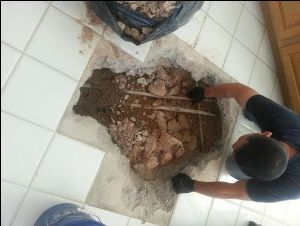Rerouting plumbing pipes versus digging slab #plumbers #tempe http://tanzania.nef2.com/rerouting-plumbing-pipes-versus-digging-slab-plumbers-tempe/  # Rerouting Plumbing pipes when a Slab Leak Repair is impractical. At times, rerouting plumbing pipes is the best repair option. The picture at left is of a slab leak repair we did at a home where ultimately the homeowner decided it was clearly better to reroute plumbing versus digging slab up to do additional slab leak repairs. The pipes under…