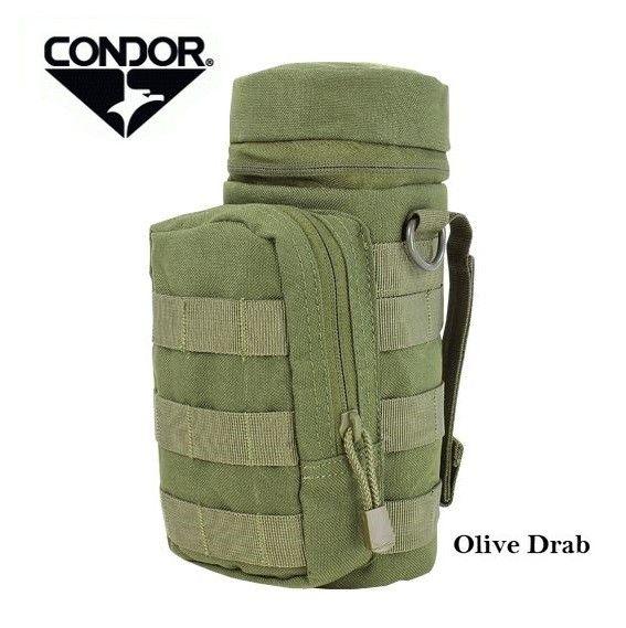 Condor H2O Bottle Pouch Olive MA40 - Sistemi idratazione - Equipment