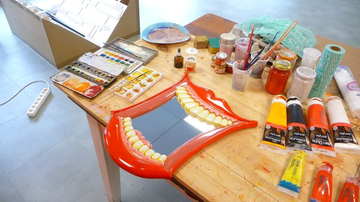We are working on a version of the smiley mouth mirror with special braces...