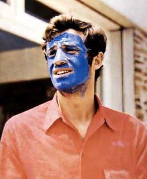 """1965 - Place 8 - Jean-Paul Belmondo in """"Pierrot le fou"""""""