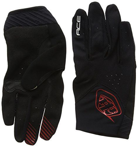 Troy Lee Designs Ace Mens Bike Sports BMX Gloves  Black  XLarge * Read more reviews of the product by visiting the link on the image.