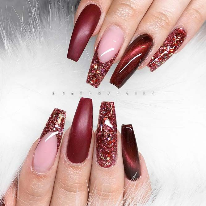 Magnificent Ballerina Nail Shape Designs See More Https Naildesignsjournal
