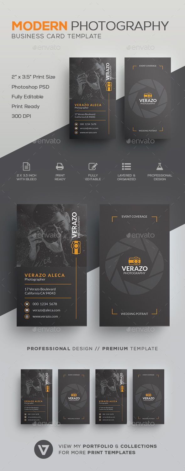 Photography #Business #Card - Industry Specific Business Cards Download here: https://graphicriver.net/item/photography-business-card/19728996?ref=alena994