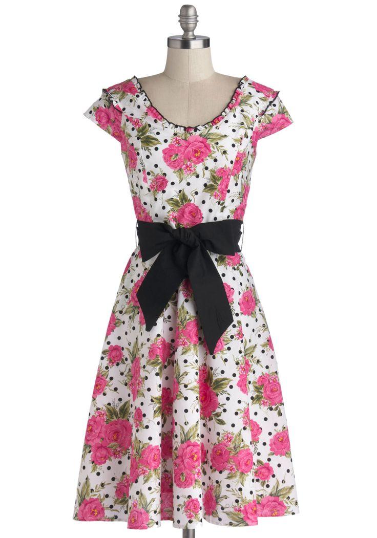 Flowers On End Dress