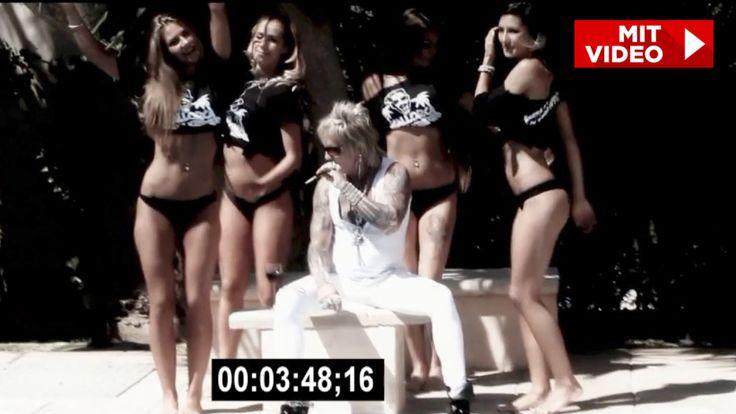 Aus Video rausgeschnitten! - Bert Wollersheim zu peinlich für Malle-Song