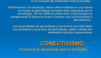 Conectivismo y el Aprendizaje en la Era Digital - Marco de Referencia | Presentación