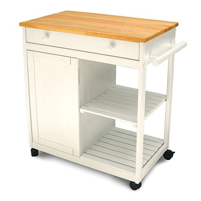 Organize your kitchen with this mobile kitchen islandVersatile Preston Hollow kitchen cart will free up space in your kitchenSimplify your life with this compact kitchen island