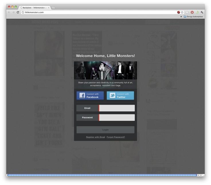 Lady Gagas sociala nätverk nu tillgängligt för alla
