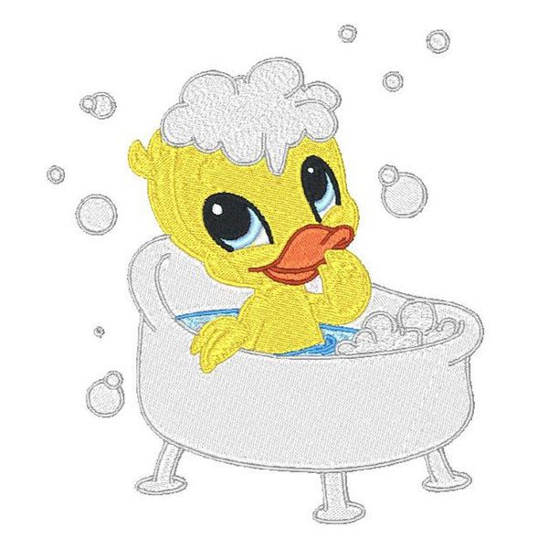 Bubble Time Ducklings