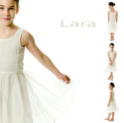 communiekaartje voor Lara