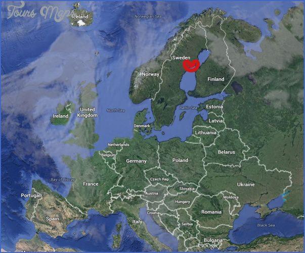 cool Umea Sweden Map