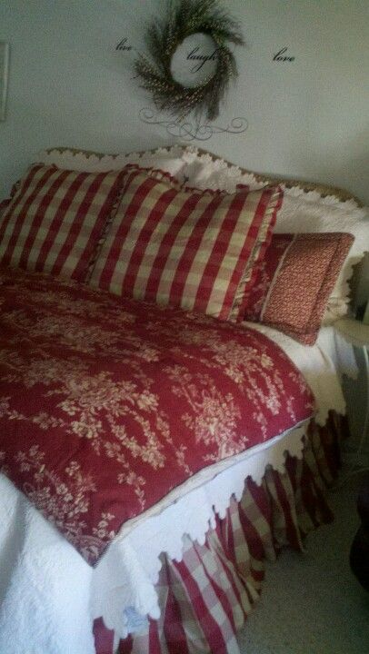 French Country Bedding My Home Designs Pinterest Bed