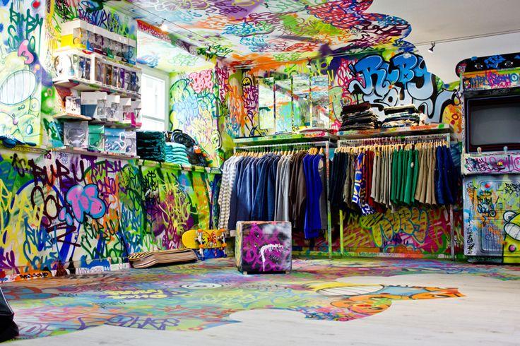 Ruby Soho Skate Shop by Robert William