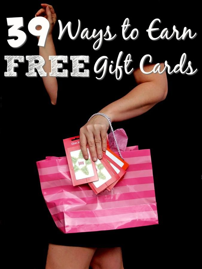 Who wants to pay cash for everything when you can use a gift card? These 39 ways to earn free gift cards can help you do just that! Tried and true, you're going to love them all!