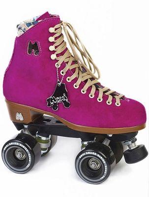 Moxi Lolly Roller Skates - Pink Fuchsia Outdoor Roller Skates