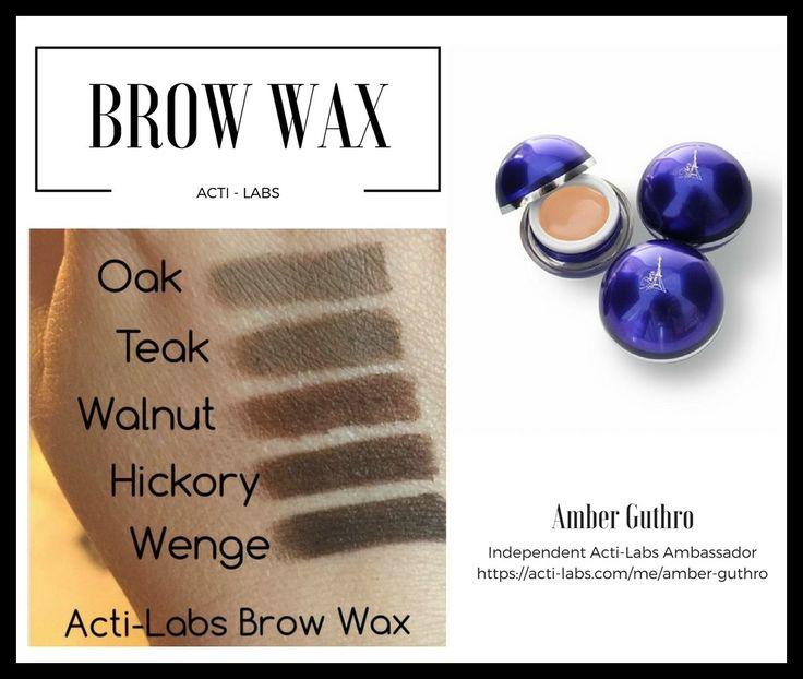 ActiLabs brow wax #makeup #eyebrows #beauty #actiamber #beauty