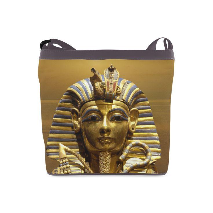 Egypt King Tut Crossbody Bag. FREE Shipping. #artsadd #bags #egypt