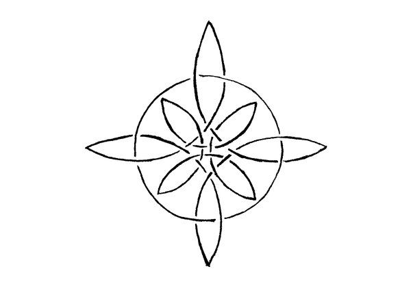 Compass Tattoo Line Drawing : Compass rose knot by altocello on deviantart tattoos