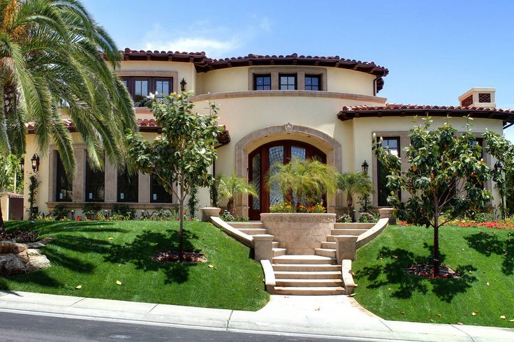 Mediterranean style house exterior the for Mediterranean style exterior