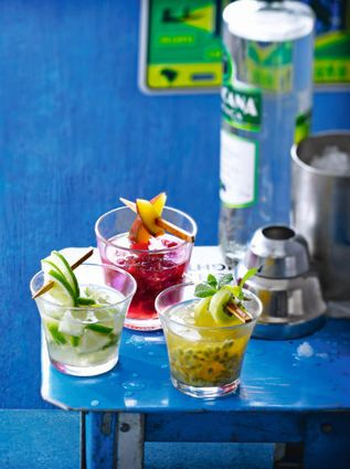 how to make caipirinha drink with vodka