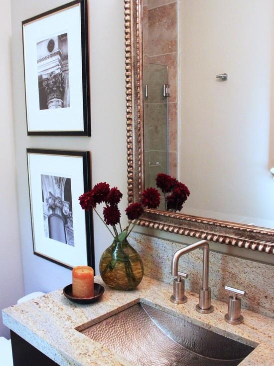 137 Best Powder Rooms Images On Pinterest Bathroom