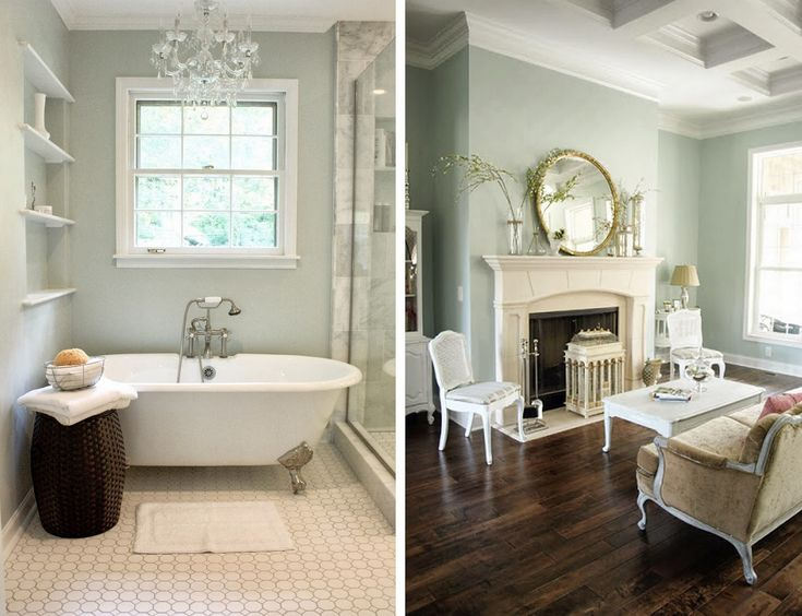 Sherwin Williams Sea Salt From Benign Objects And Rainwashed From Less Than Perfect