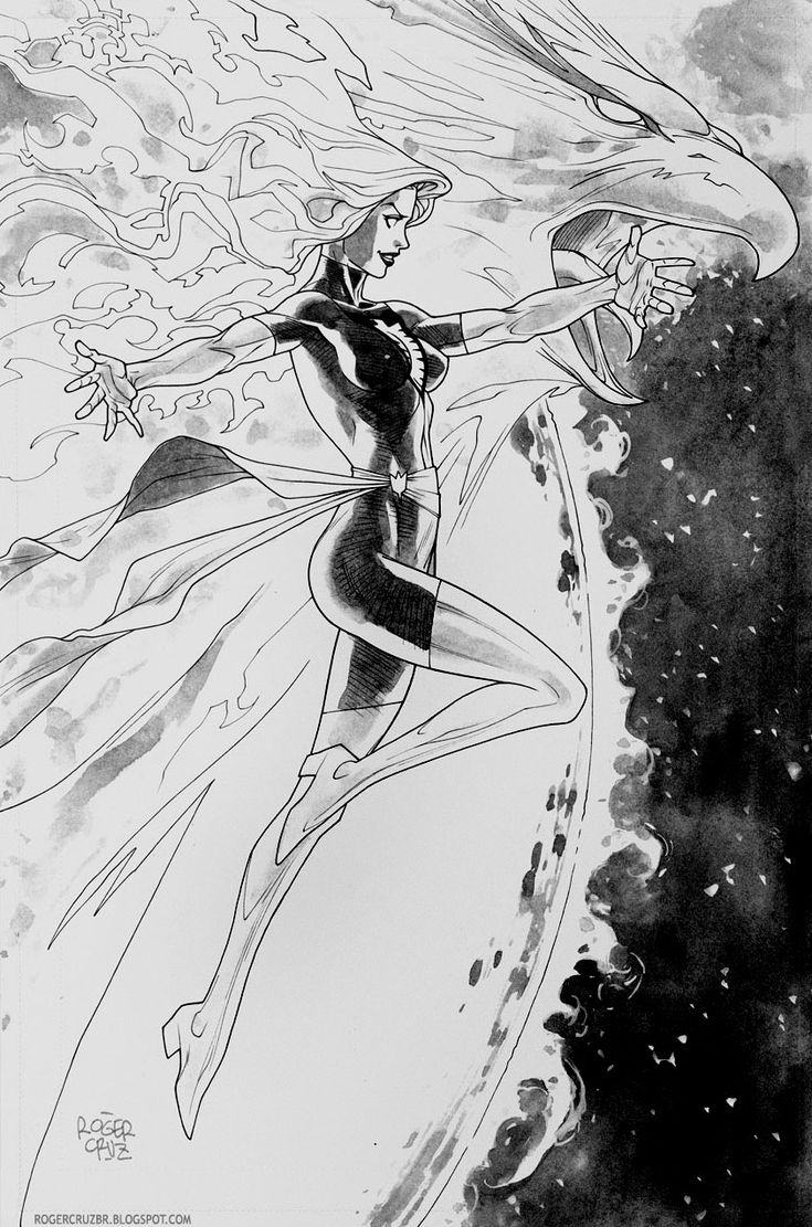 Dark Phoenix by Roger Cruz