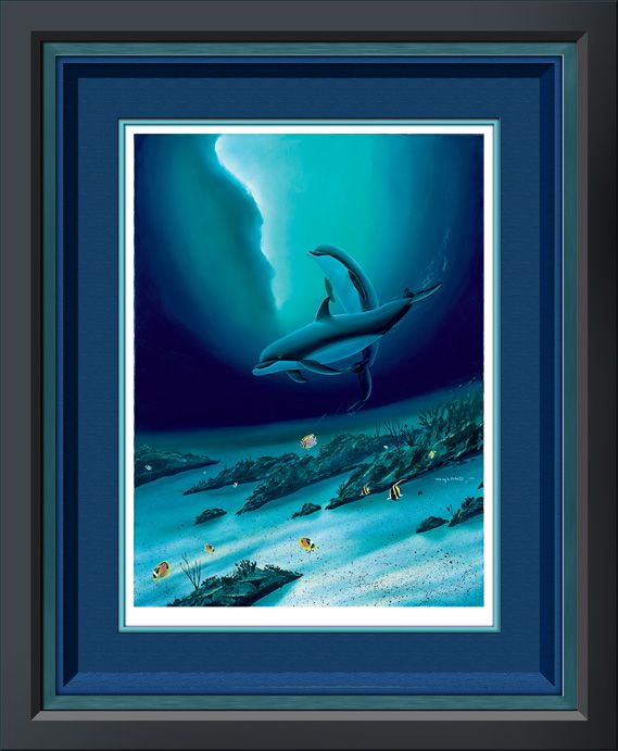 OCEAN CHILDRENBeloved Artworks, Ocean Children, Limited Editing, Ocean Realm, Dolphins Shared, Image, Wyland Artists, Underwater Art, Steve Ferdinand