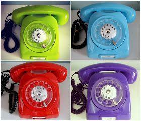 Chá da Alice: Telefones Vintage