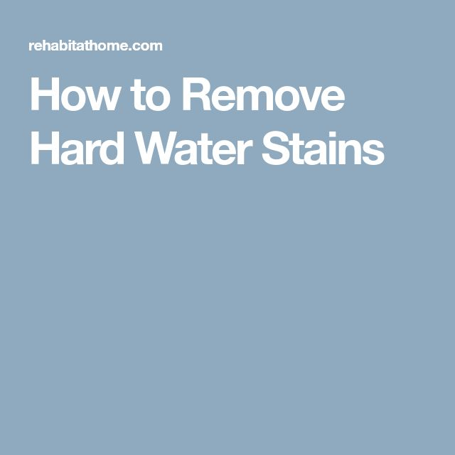 The 25+ best Hard water stains ideas on Pinterest | Hard water ...