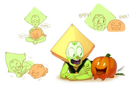 I think the pumpkin dog is going to make a big change in things c: