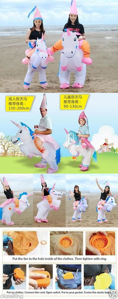 Inflatables 177759: Adult Inflatable Unicorn Fancy Dress Costume Princess Hen Stag Night Outfit -> BUY IT NOW ONLY: $34.5 on eBay!