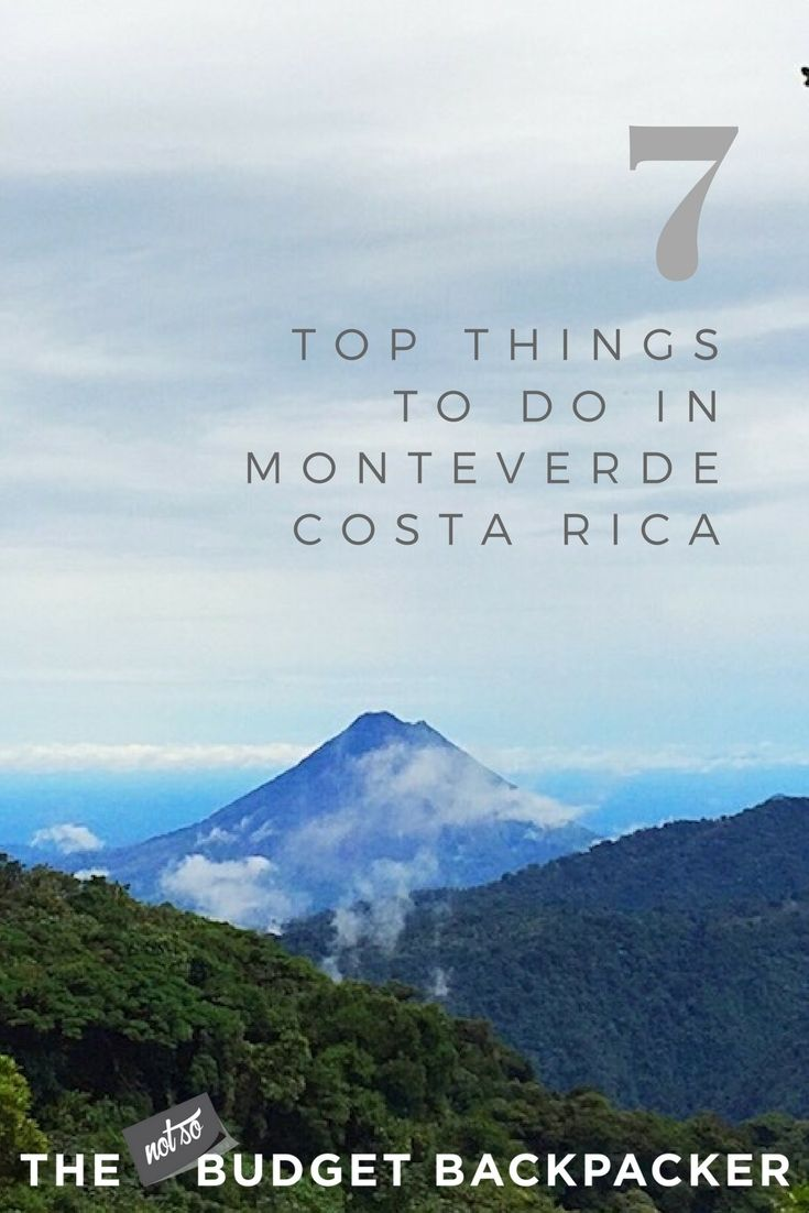 From zip lining to hanging bridges and some of the tastiest food in the country, here are the top things to do in Monteverde Costa Rica // Costa Rica zip line, monteverde costa rica hotels, costa rica ziplining, canopy tour costa rica, monteverde costa rica zipline, monteverde cloud forest costa rica, monteverde activities, what to do in monteverde costa rica, free things to do in monteverde costa rica, monteverde costa rica activities, monteverde costa rica things to do, Monteverde…