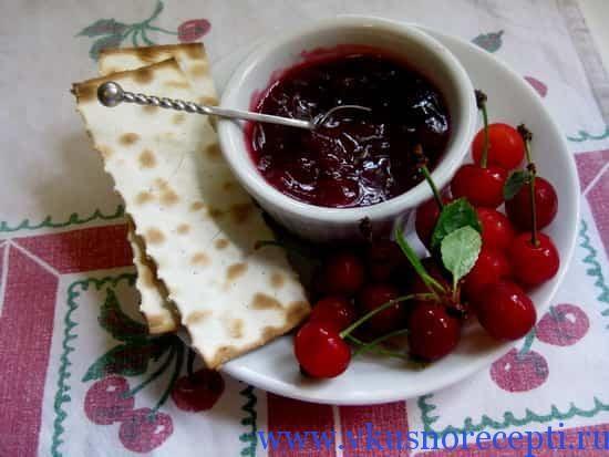 Вишневое варенье без косточек на зиму - http://www.vkusnorecepti.ru/vishnevoe-varene/