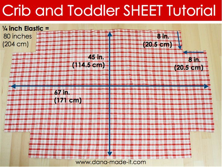 "luvinthemommyhood: Crib & Toddler Bed Sheet Tutorial with Guest - Dana from ""Made"""